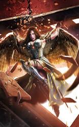 Winged Girl by AdmiraWijaya