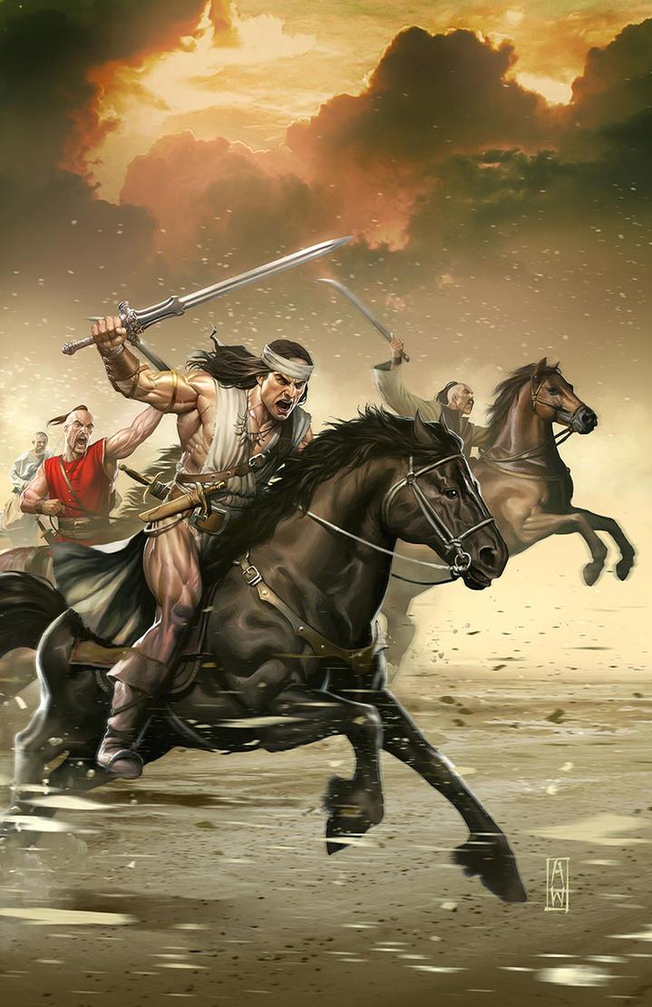 Dark Horse Conan the Slayer #4 by AdmiraWijaya