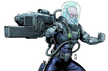Mr. Freeze by AdmiraWijaya