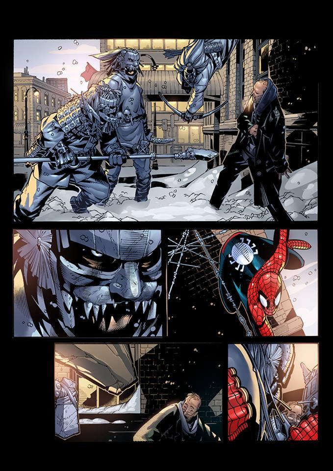 Spidey Comic Page by AdmiraWijaya