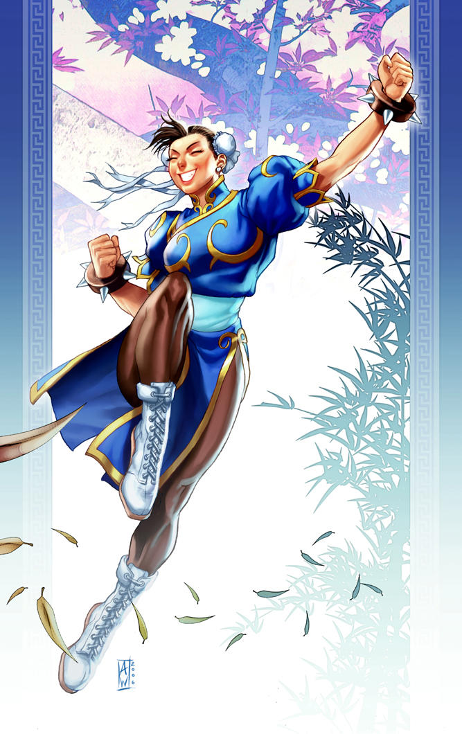 Chun-Li Illustration