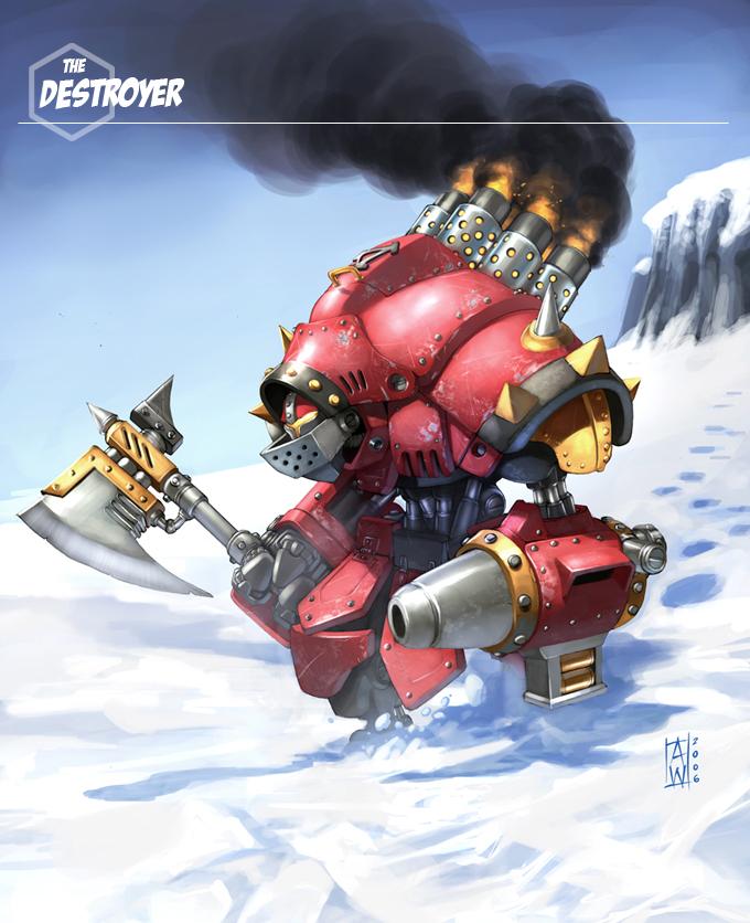 Warmachine_The Destroyer by AdmiraWijaya