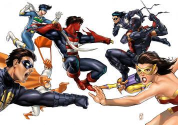 The Big Duel Comic 1 Decade by AdmiraWijaya