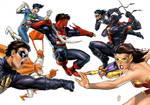 The Big Duel Comic 1 Decade
