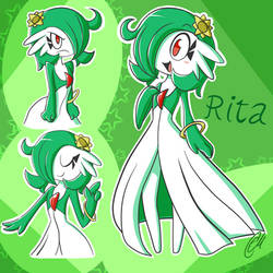 Rita the Gardevoir!