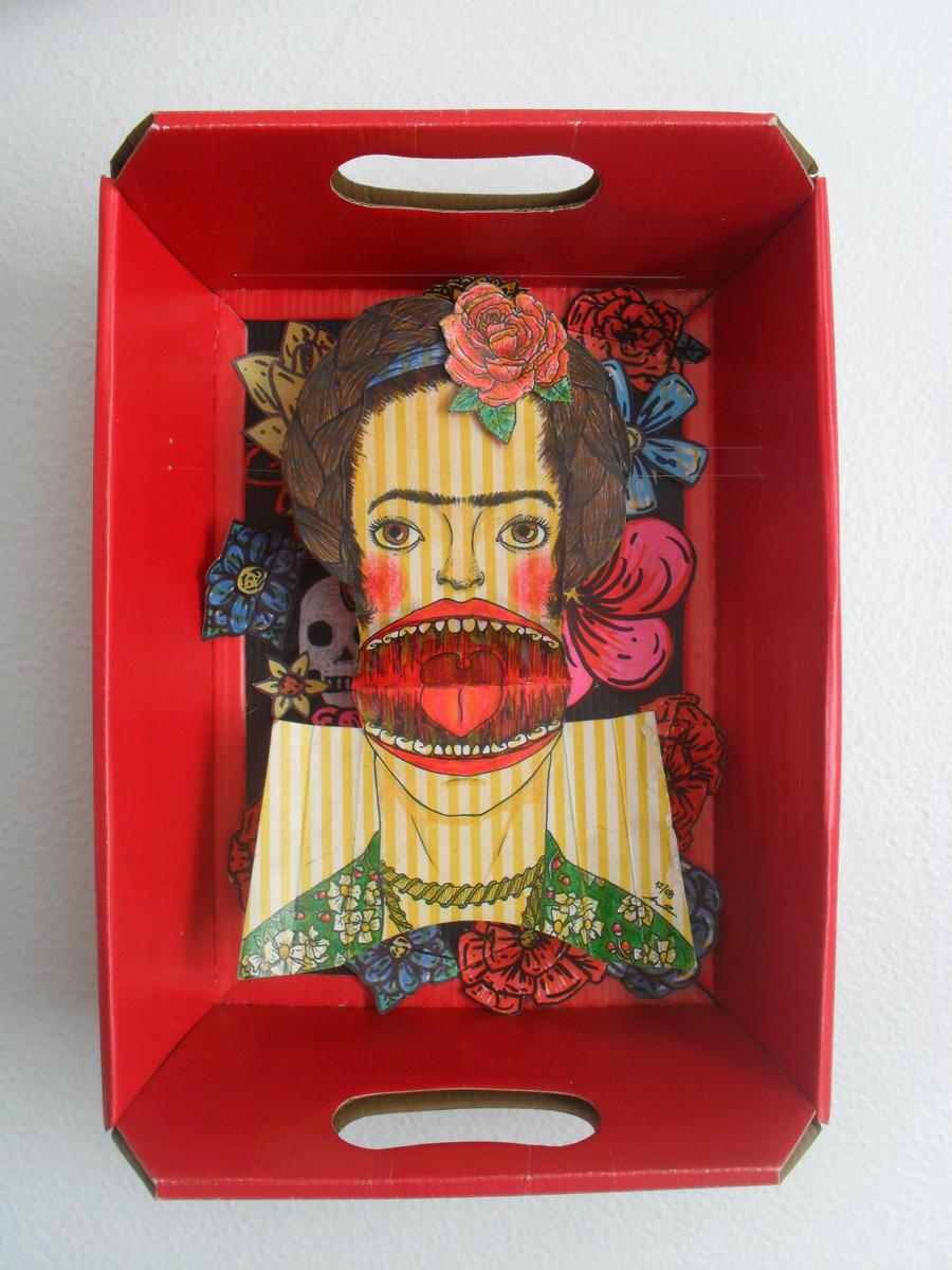 Frida Kahlo set by WerterSkelterNOW