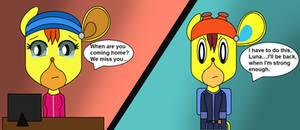 Luna Asks Cybertop When He's Returning
