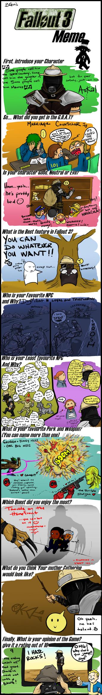 Fallout 3 Meme by BGin