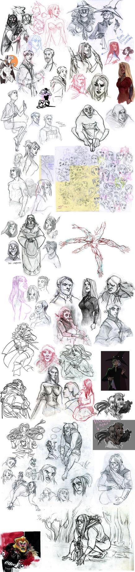 sketchdump 32 by Ne-sy
