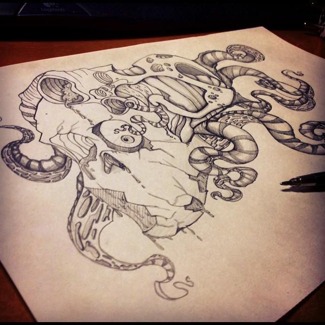 nightmare sketch by kattyhaven