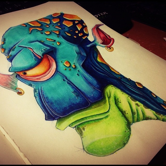 creature by kattyhaven