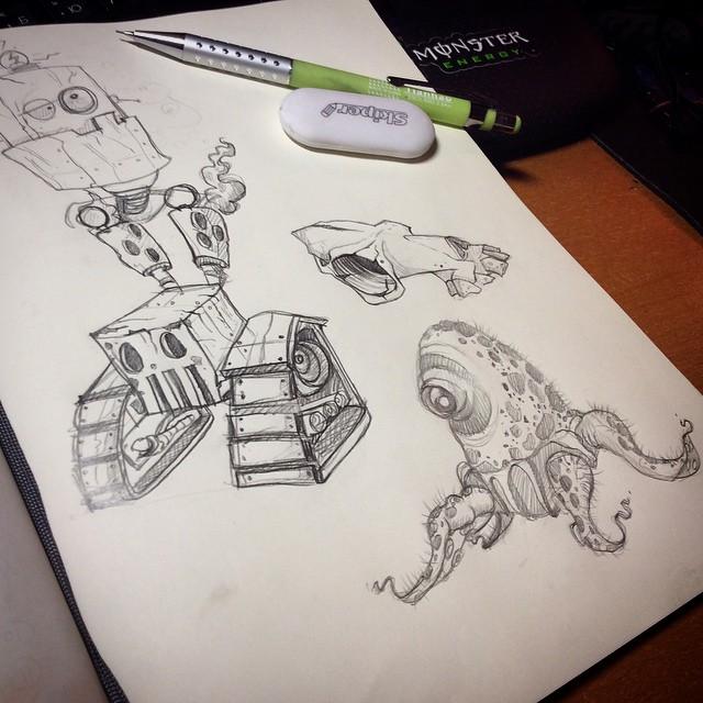 sketches by kattyhaven