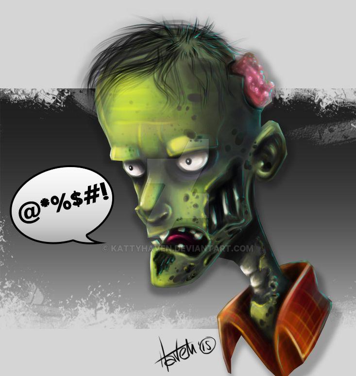 Zombie by kattyhaven