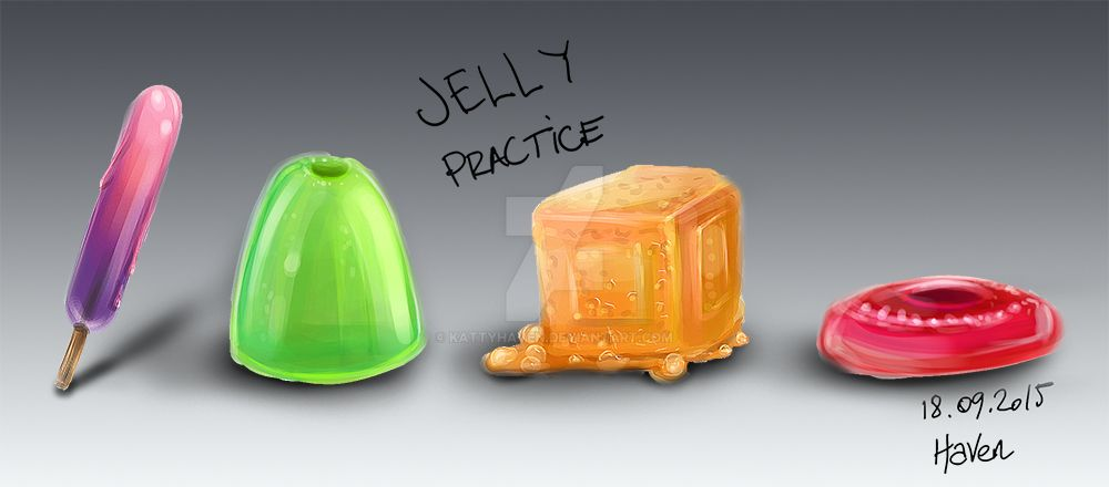 Jelly Practice by kattyhaven