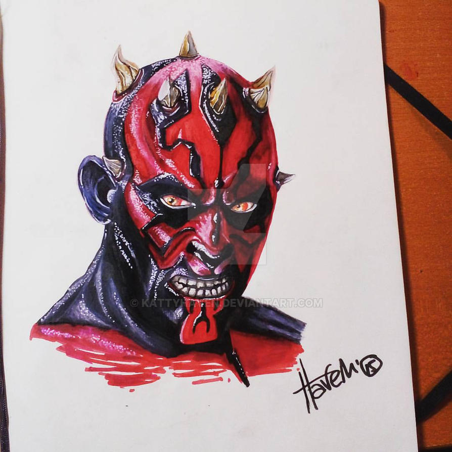 darth maul by kattyhaven
