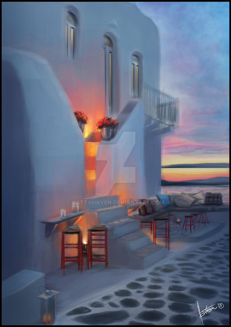 Crete Painting Final by kattyhaven