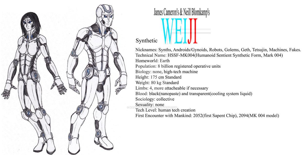 WEIJI Minor Races: Synthetics by Kaptain-Kefiah