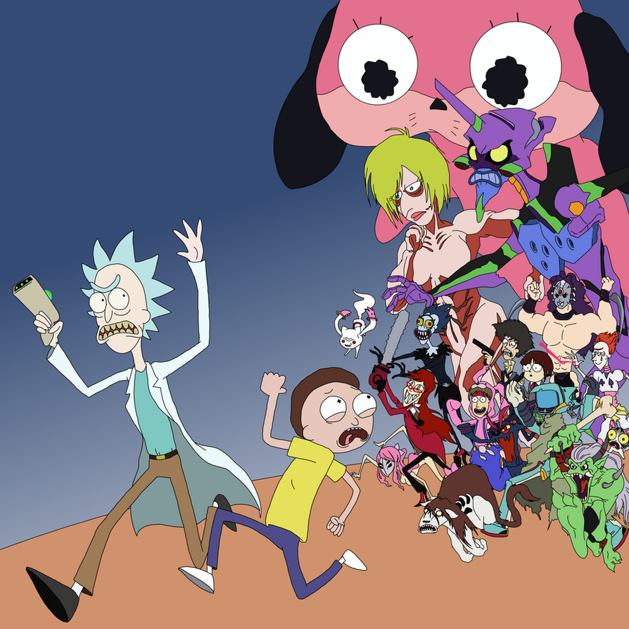 Rick And Morty Anime Dimension By Shinjitoo On DeviantArt