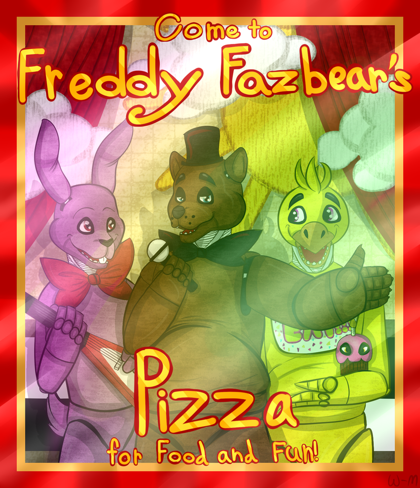 [FNAF] Come to Freddy's by Wolf-mask