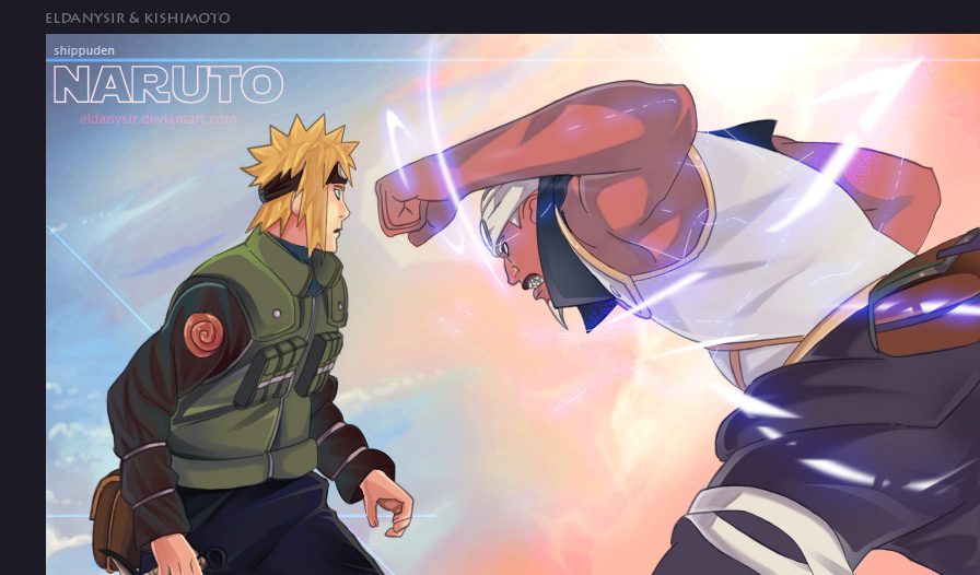 Eldanysir Galeria Coloreados de Naruto Manga