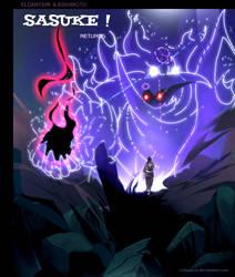 Sasuke: the beam of darkness by eldanysir