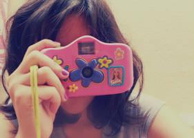 Barbie's camera by beri-cram