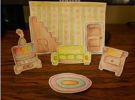 Complete Living Room by beri-cram
