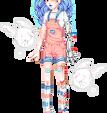 pink n blue by beri-cram