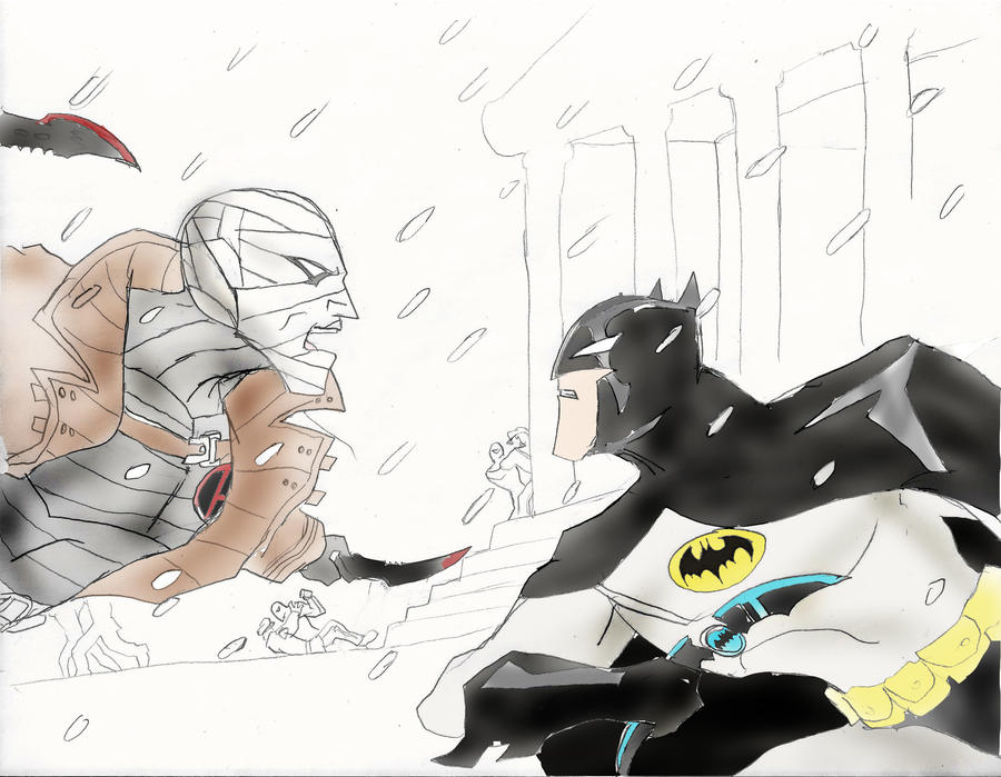 The Batman: The Bat vs. The Hush by Omnipotrent