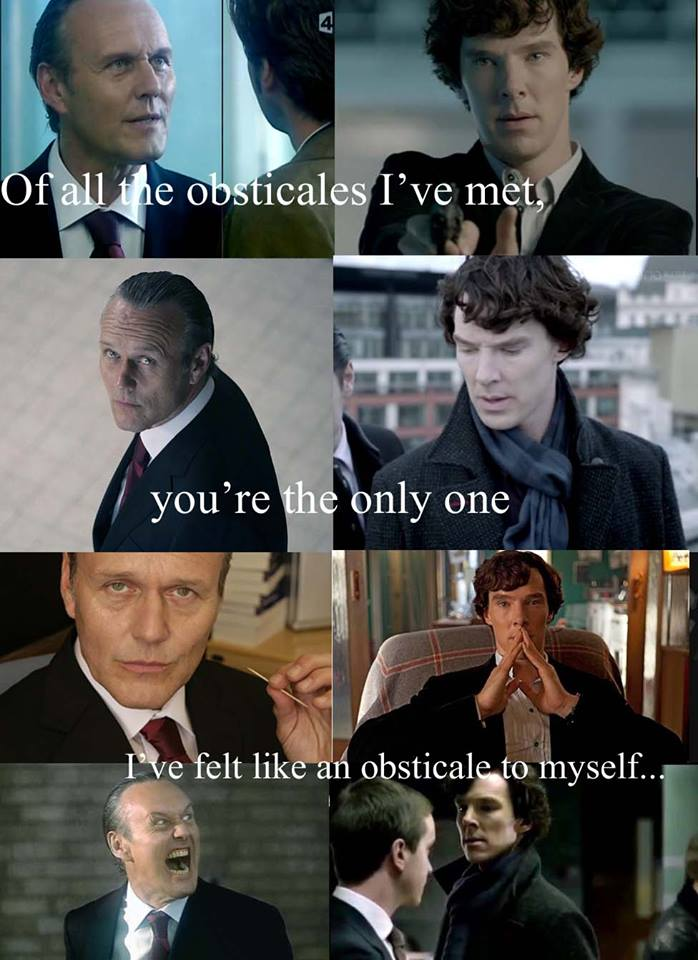 sherlock and moriarty meet the millers