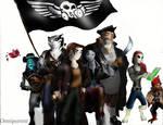 Treasure Planet: Jim's crew