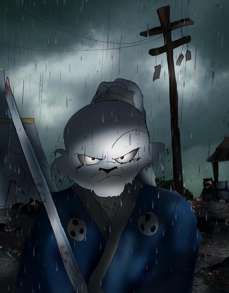 Usagi Yojimbo: The Rabbit Ronin by Omnipotrent