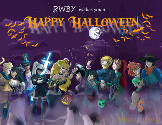 RWBY Halloween 2018 by Omnipotrent