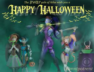 RWBY Halloween: Atlas Ho Down