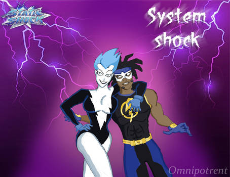 Static Shock x Livewire: shock to the system
