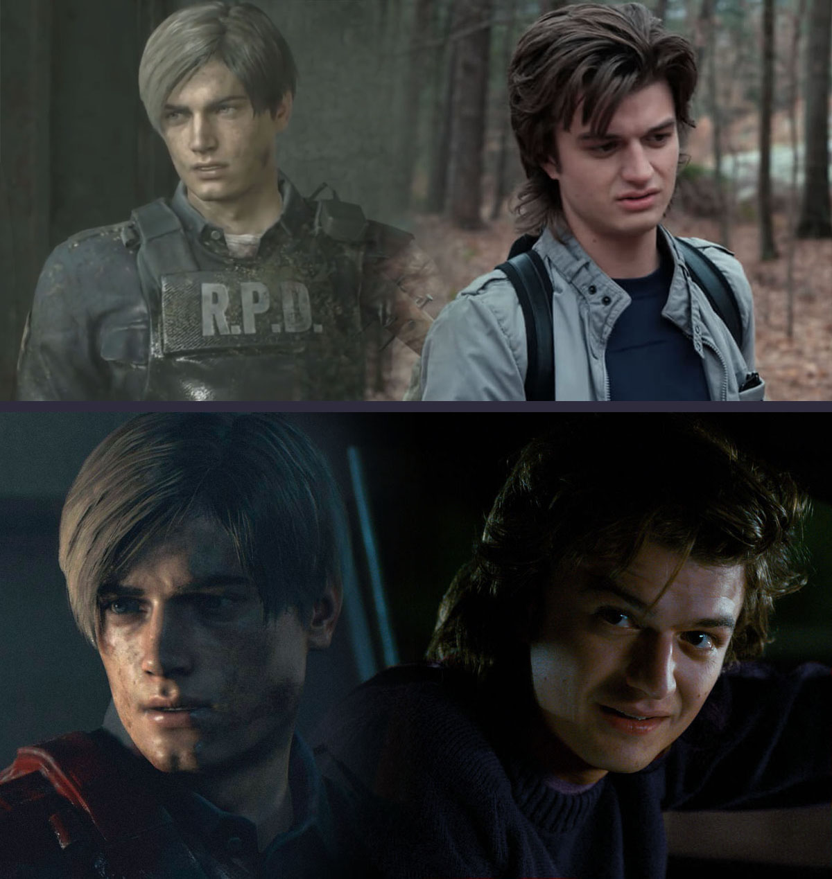 Resident Evil 2 Remake Joe Keery As Leon Kennedy By Omnipotrent