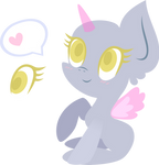 Mlp Base: Cute chibi pony by DarkPinkMonster