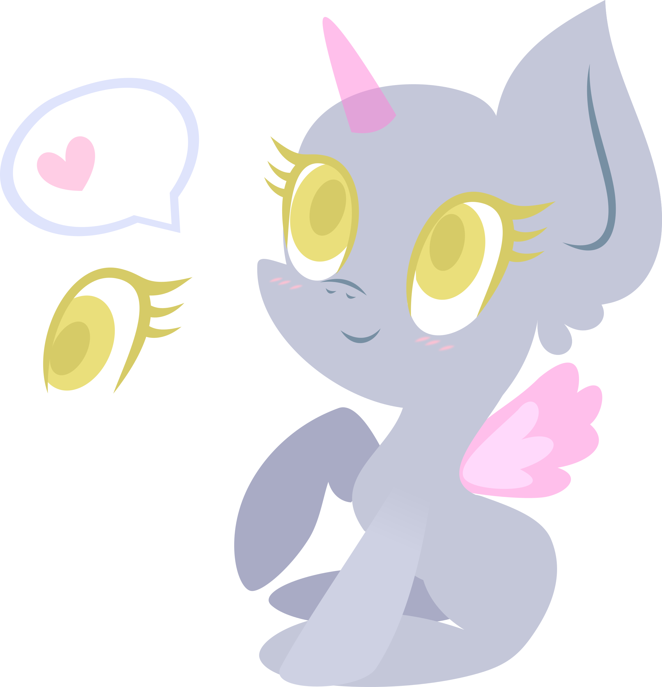 Mlp Base: Cute chibi pony by DarkPinkMonster on DeviantArt