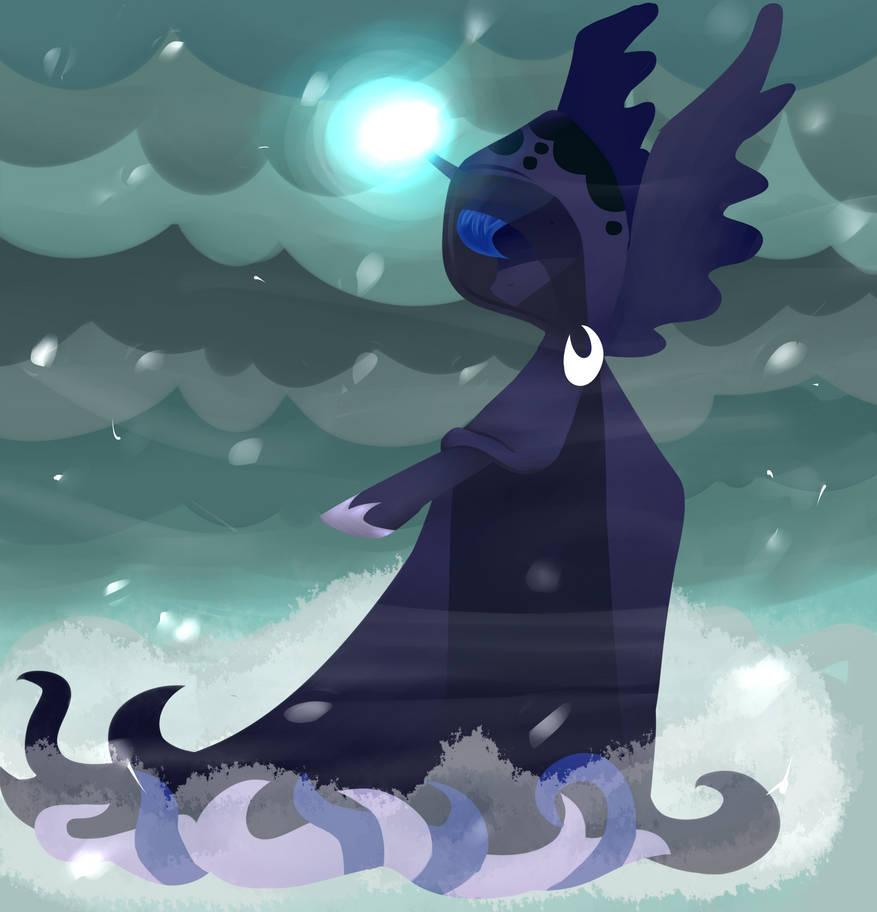 Luna's Future by DarkPinkMonster