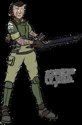 Only War: Sgt. Nyka Wolfscar