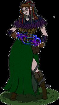 Pathfinder: Fredalie, Witchmaiden of Reuton