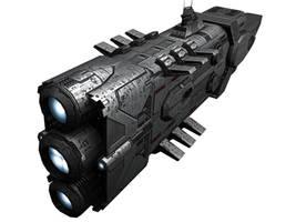 Hawking Battlecruiser by AStepIntoOblivion