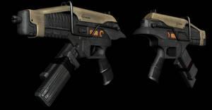 Salier P4 Submachine Gun