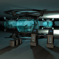 Turret Holosphere + Consoles by AStepIntoOblivion