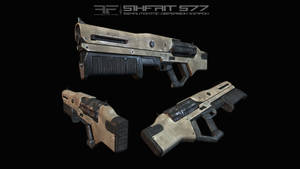 AIA Sikfrit S77 Shotgun by AStepIntoOblivion