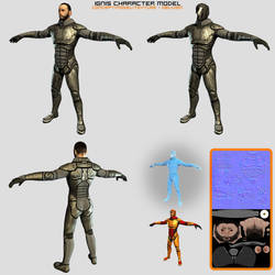 Ignis Character Model