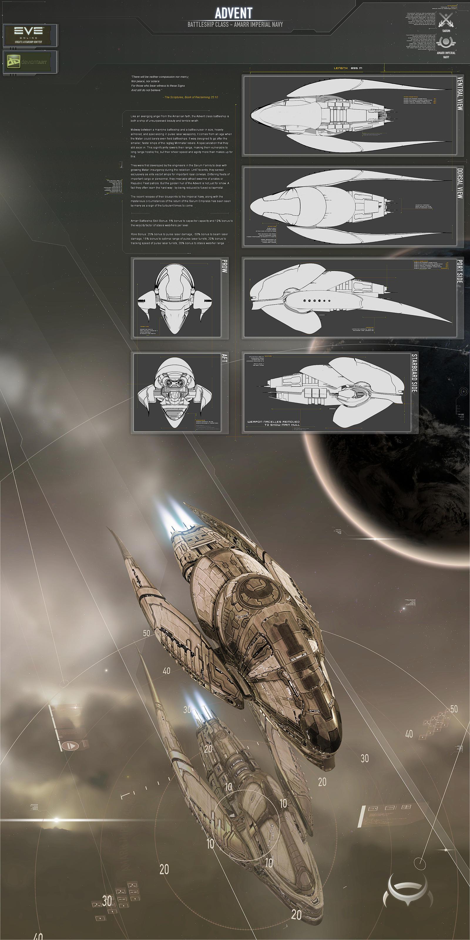 Advent Battleship by AStepIntoOblivion