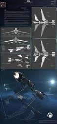 Serval Battlecruiser by AStepIntoOblivion