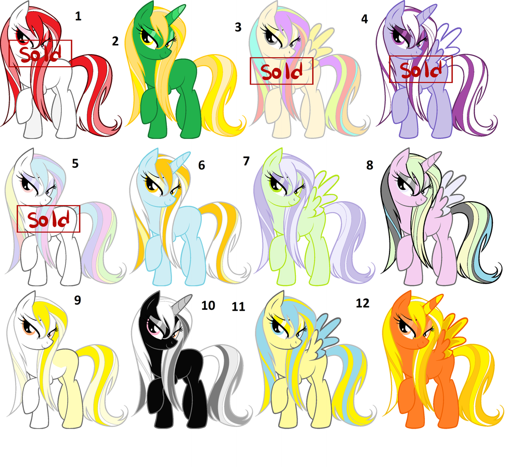 My little pony OFFER TO ADOPT by Yumi Kitten on DeviantArt