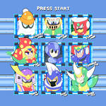 Mega Man 6 Stage Select